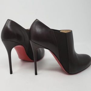 CHRISTIAN LOUBOUTIN LEATHER BOOTIES